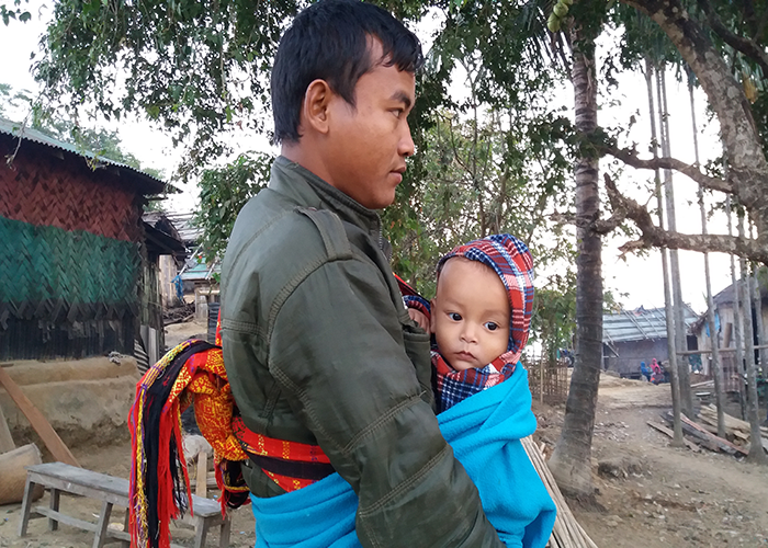 Father With his Child at Sajek